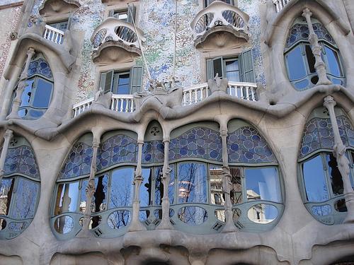 Barcellona, Gaudì: Casa Batllò