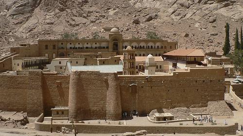 Egitto: il monastero di santa Caterina