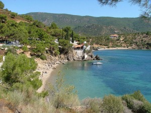 Spiagge di Lesvos, isola della Grecia