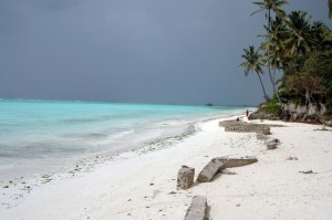 Mare d'inverno a Pwani, Zanzibar