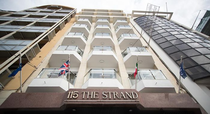HOTEL 115 THE STRAND HOTEL AND SUITES | Malta