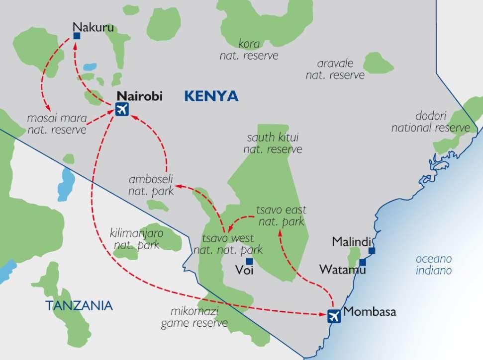 JUMBO SAFARI   Kenya